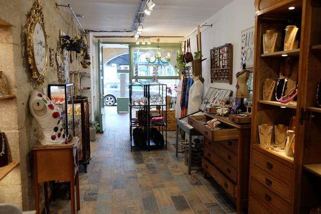 Boutique de Marion créatrice de bijoux artisanaux