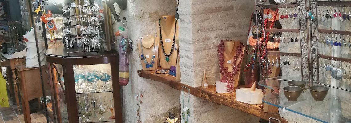 parure en pierre gemme bijou artisanal fantaisie
