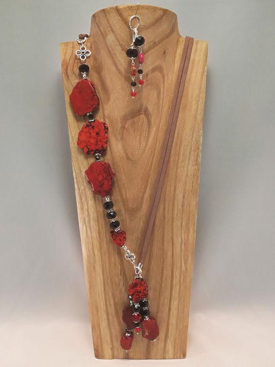 collier-2en1-rouge-et-noir-en-howlite