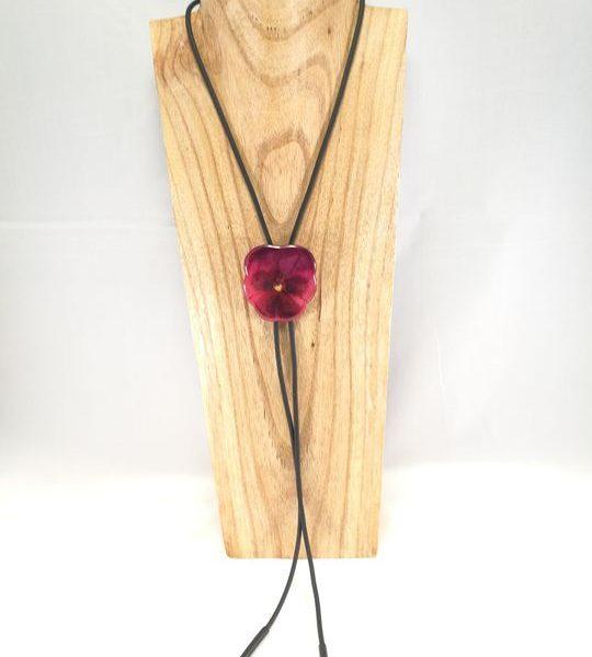 collier-cravate-de-veritable-pensee-mauve-rose-l