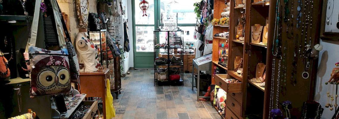 Boutique Parion création bijoux et artisanat en gironde