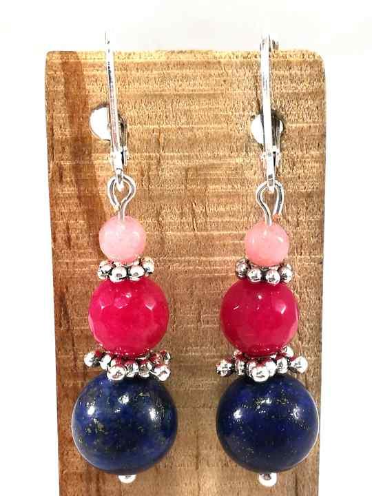 boucles-doreilles-bleues-et-rose-fuchsia-en-lapis-lazuli-et-agathe-bom84