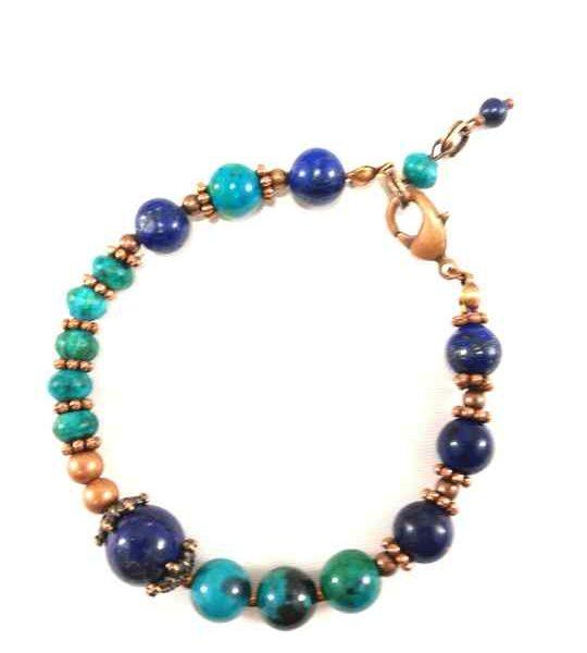 bracelet-bleu-et-turquoise-en-lapis-lazuli-et-chrysocolle-btm10
