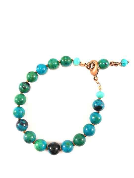 bracelet,turquoise,en,chrysocolle,naturelle,brtm15