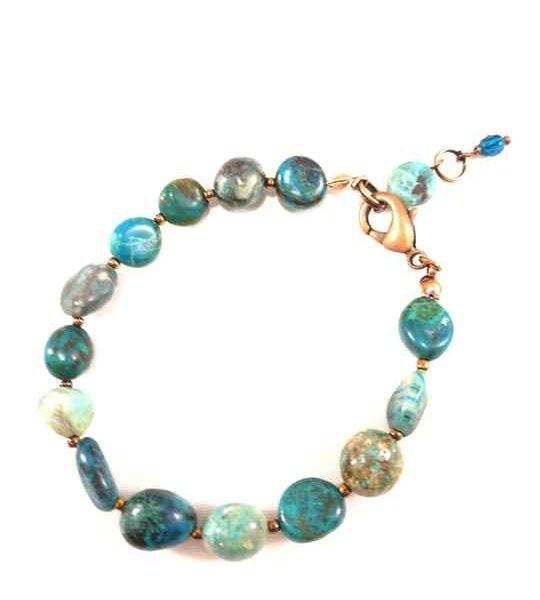 bracelet-turquoise-en-chrysocolle-naturelle-brtm14
