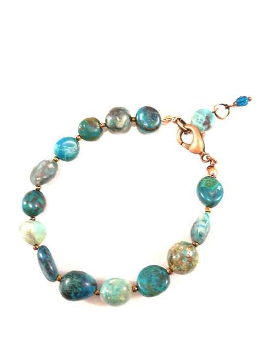 bracelet,turquoise,en,chrysocolle,naturelle,brtm14