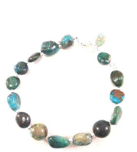 bracelet-turquoise-en-chrysocolle-naturelle-plaque-argent-brtm25