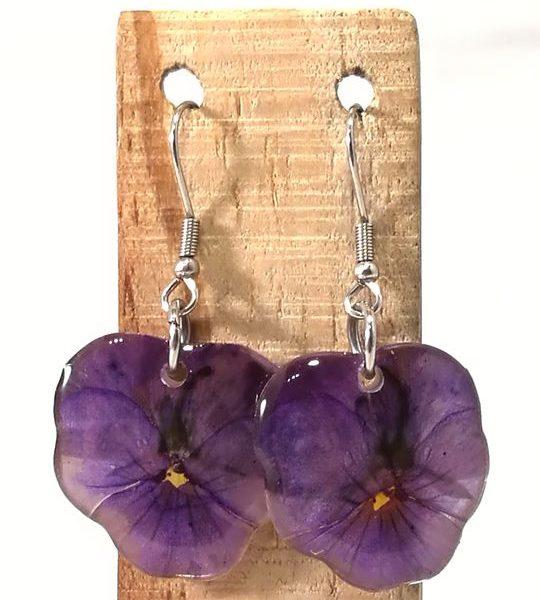 veritable-pensees-violettes-serties-en-boucles-doreilles