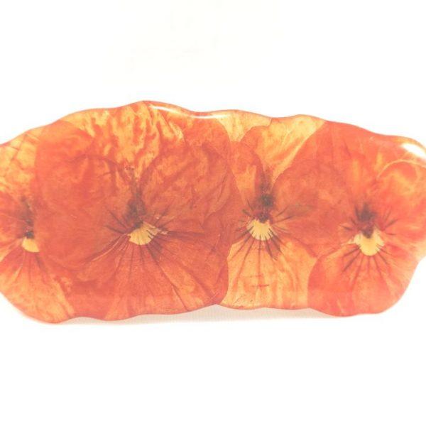 petite-barrette-pensees-orange