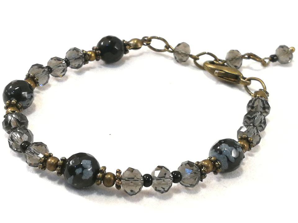 bracelet-en-obsidienne-flocon-de-neige-et-cristal-de-boheme