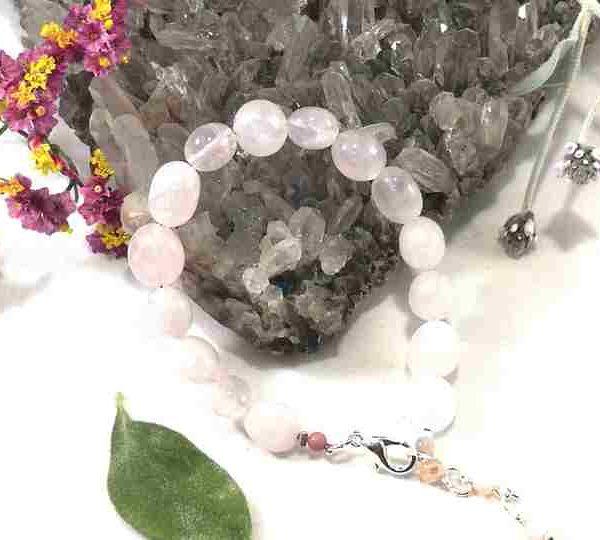 bracelet-en-quartz-rose