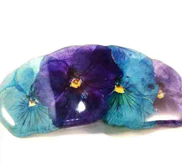 petite-barrette-pensees-bleu-violet