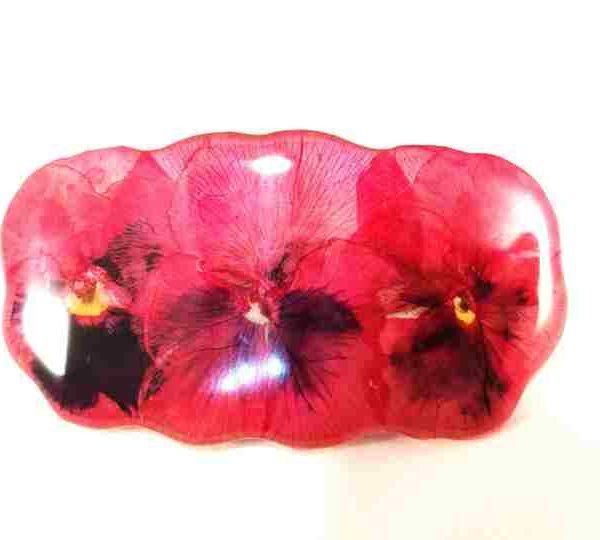 petite-barrette-pensees-rose-fuchsia