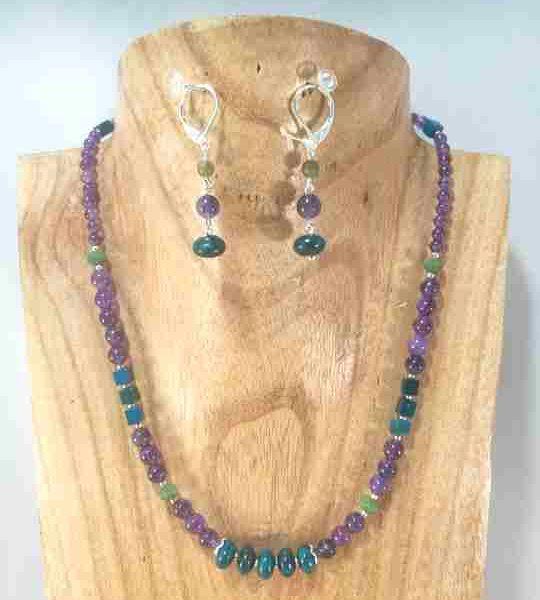 collier-violetturquoise-en-amethyste-chrysocolle-cristaux-de-boheme